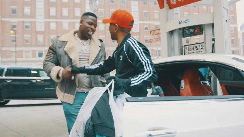 Casanova takes homeless man shopping FULL VLOG