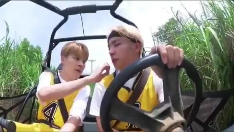Jealous joon is jealous . . . The question is... Of who ? Minjoon vs Namjin