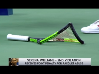 #доброе_утро - сирена  америки !!! нервы  не  выдержали ....#фс2018_теннис  serena williams in dramatic us open final