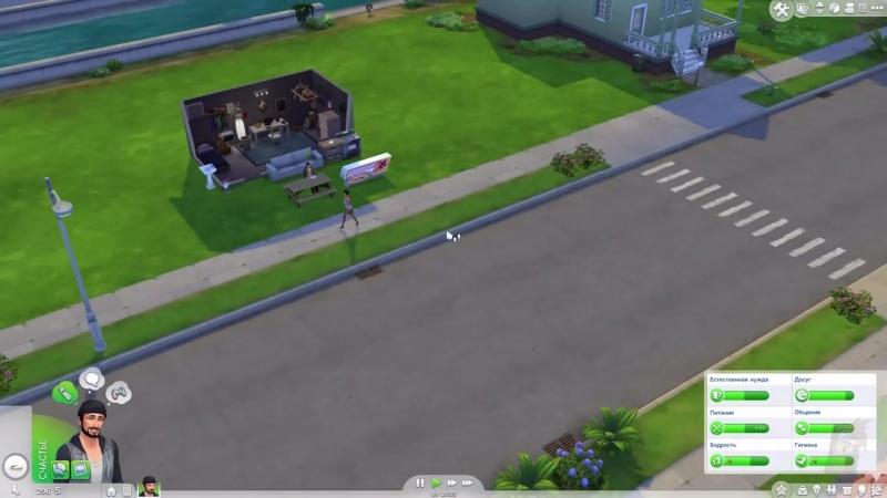 [Eligorko] Жизнь в гараже [Sims 4 1]