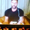 Joy on Instagram Soooo cool to hear @ricky_martin talk about what it was like to play Gianni Versace's lover who ended up commiting suicide. Ver...