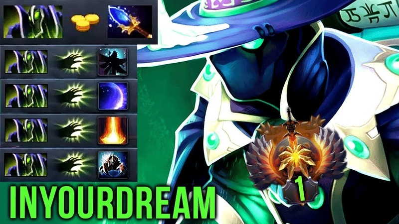 TOP-1 inYourdreaM Showing His EPIC Skills On Rubick - Insane Stealing Machine - Perfect Plays Dota 2