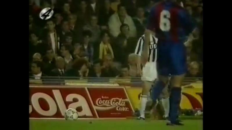 Barcelona juve 1991