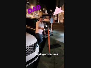 Дэннил после концерта Louden Swain в Остине (из истории Ди на Инстаграме)
