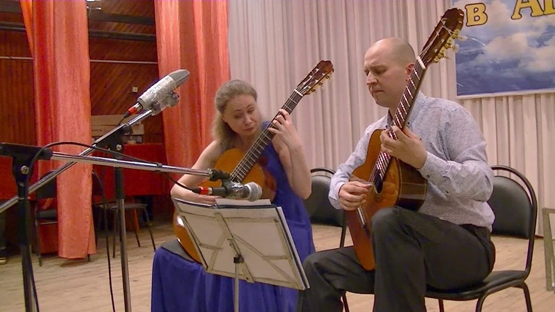 Astor Piazzolla Zita - Samoylovi Guitar-Duo