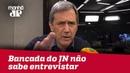 Bancada do Jornal Nacional não difere pré-candidato de candidato   Marco Antonio Villa