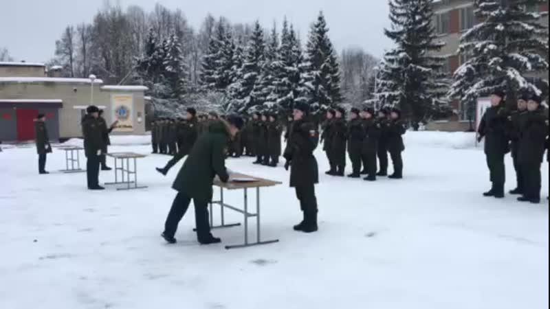 23 12 2018 ПРИСЯГА ЛЁШИКА