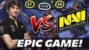 DENDI EPIC GAME vs NAVI [Team Secret vs Natus Vincere] Dota 2