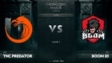 TNC Predator vs Boom-ID, Game 1, SEA Qualifiers The Chongqing Major