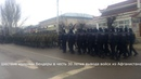 Шествие колонны в честь 30 летия вывода войск из Афганистана ПМР Бендеры