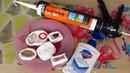 Идеальные молды из герметика и жидкого мыла молды без крахмала своими руками