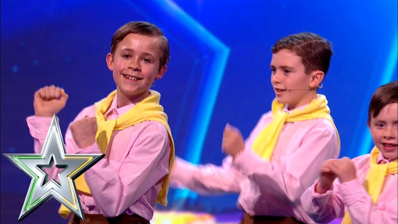 The Wee Daniels pay tribute to Irish Crooner Daniel O'Donnell Ireland's Got Talent 2019