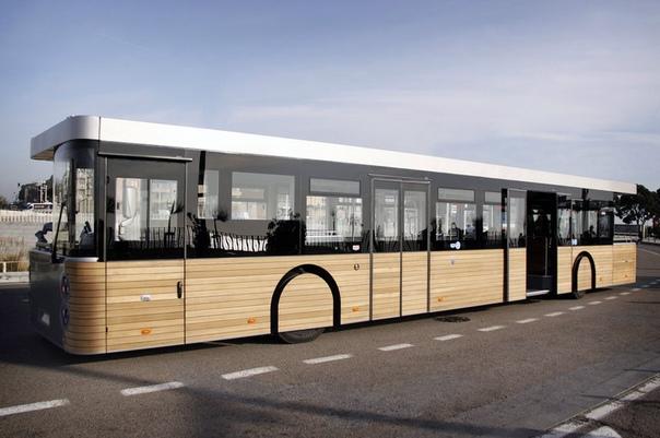Cobus DES: автобус без начала и конца Если вы когда-нибудь бывали на знаменитом французском острове-крепости Мон-Сен-Мишель, вы с большой долей вероятности переправлялись туда на необычном