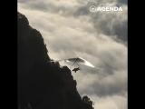 Полёт над Швейцарскими Альпами