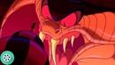 Джафар превратился в гигантскую змею. Аладдин 1992 год