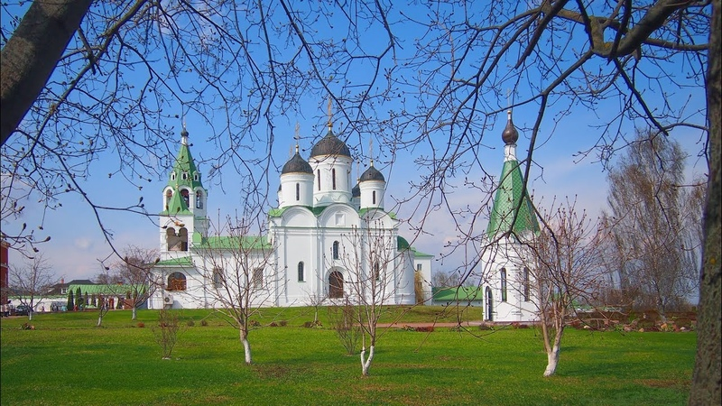 Апрель в Спасском монастыре города Мурома / April in the Spassky Monastery of Murom