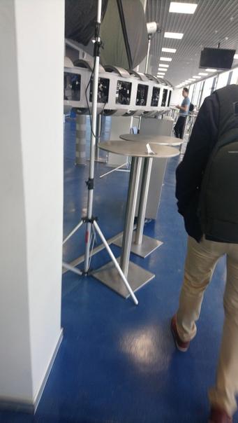 Аппаратура для съёмки Матрицы