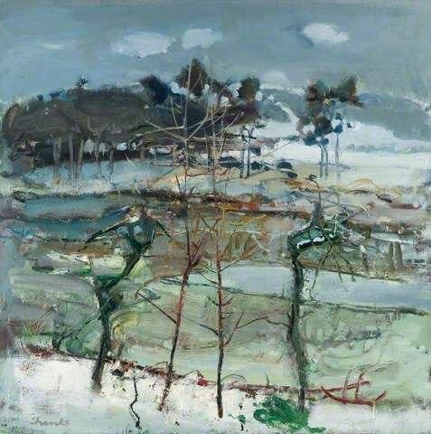 Duncan Shans (b.1937) - шотландский художник . учился в школе искусств Глазго в начале 1950-х годов, после окончания стал преподавателем в школе. При этом его работы широко экспонировались в
