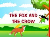 The fox and the crow Kindergarten story for kids