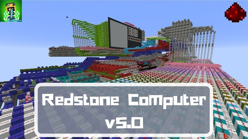[Minecraft Computer Engineering] - Quad-Core Redstone Computer v5.0 [12k sub special!]