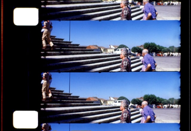 Stuart Warriners (UK) historical widescreen Pan-16 film format - overscan version