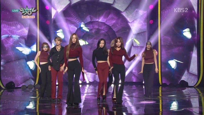 F(x) 에프엑스 Front-Runner Stage 4 Walls KBS MUSIC BANK 2015.11.13