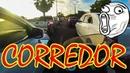 Corredor Comet GTR trânsito pesado com garupa hardcore sem freio traseiro
