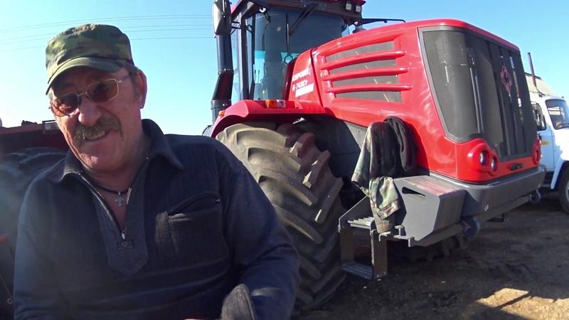 Трактор К 744 р3 установка РПН, двигателя и кабины (Сезон 2019)