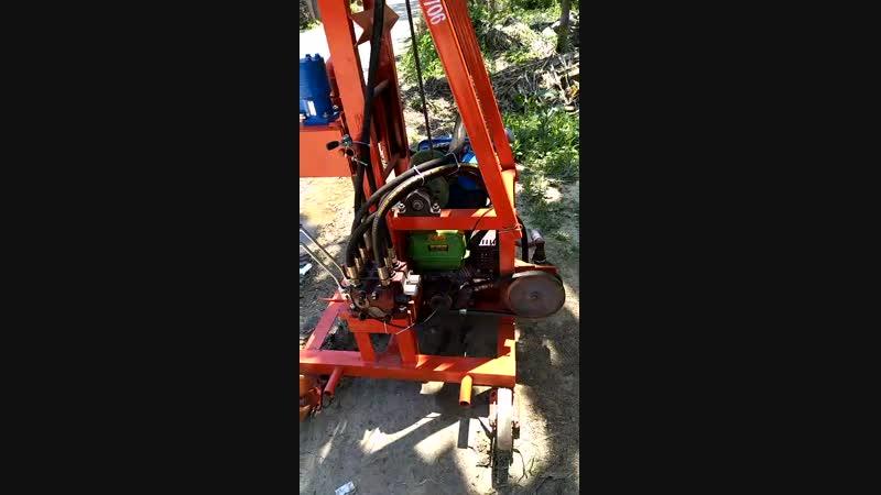 Diesel type water well drilling rig--буровая установка для бурения воды