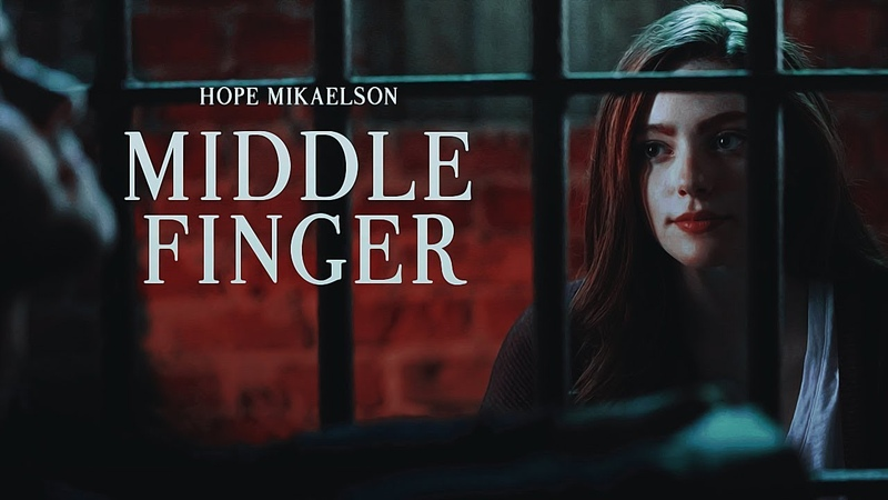 Hope mikaelson middle finger legacies 1x01