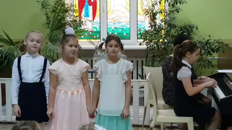Ульянка-концертмейстер!