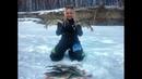 ПОПАЛИ С ИРОЙ НА ГОРБАЧЕЙ Рыбалка март 2019 Крупный окунь ловля на безмотылку