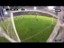 Подлец из аргентинской лиги по пижонски отвернулся во время удара по воротам