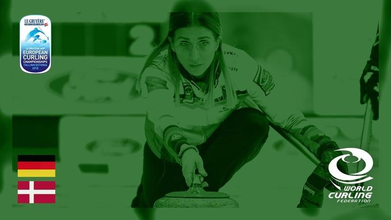 Germany v Denmark - Women - Round Robin - Le Gruyère AOP European Curling Championships 2018