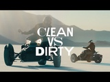 Can-Am Ryker Clean vs. Dirty
