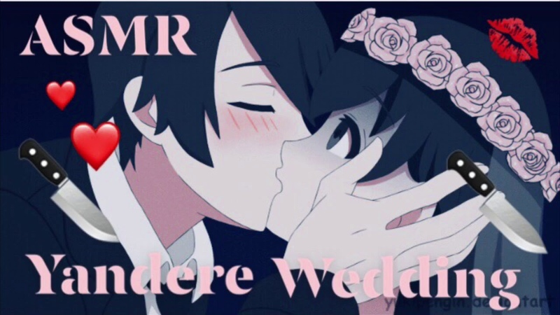 ASMR Yandere Wedding (Gender Neutral) (Whispering)
