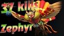 HoN replays - Zephyr - 2 x Immortal - 🇻🇳 prince_n0mad Legendary II