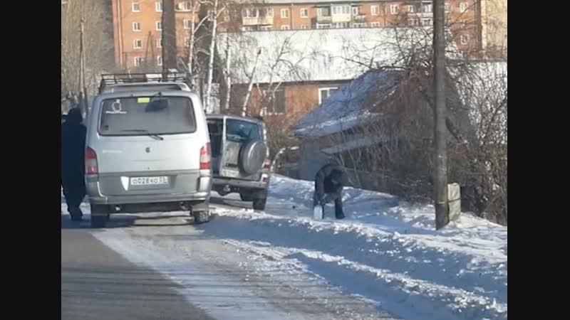 Замерзшие машины отмена занятий и обморожения Как холод отразился на жизни улан удэнцев