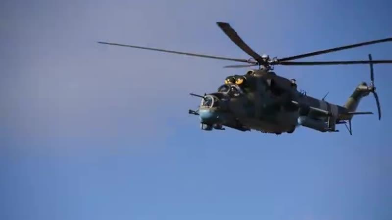 ООС. Перевірено готовність штурмової та армійської авіації.