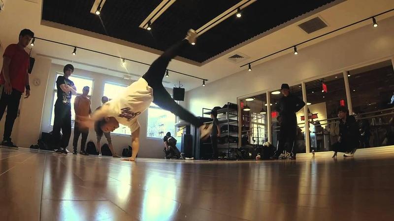 Bboy Pocket NYC Workshop