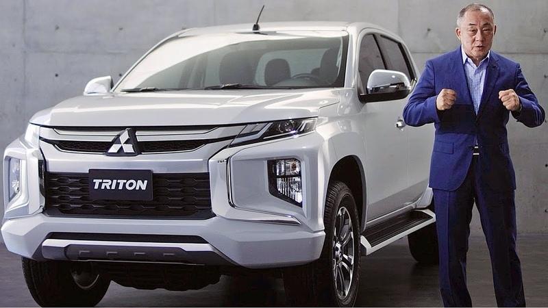 Mitsubishi Triton/L200 (2019) Ready to fight Toyota Hilux?