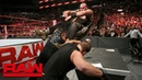 The Shield reunite to stop Braun Strowman from cashing in Raw Aug 20 2018