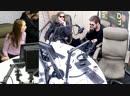 Организаторы ARCHPRT: Миша Маслов, Максим Куплянин, Дмитрий Соколов на Радио DFM 94.7