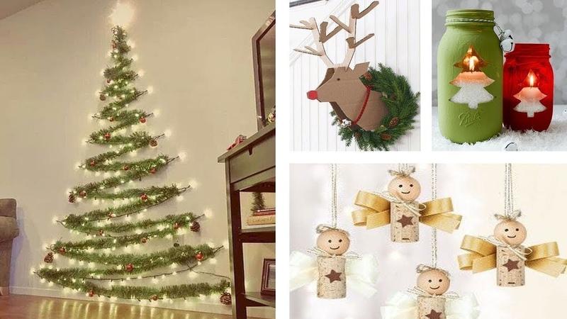 DIY Christmas Decor! Easy Fast DIY Christmas Winter Ideas for Teenagers 1