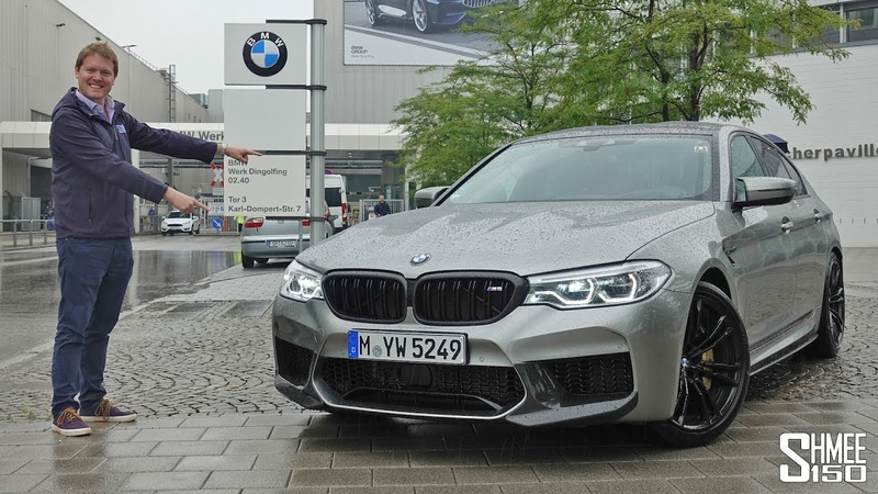 This is Where My BMW M5 was Built BMW Plant Dingolfing