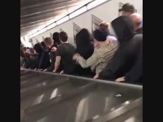 Кошмар в метро перед матчем «Рома» – ЦСКА