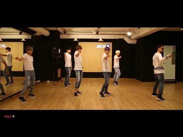 TEEN TOP (틴탑) - ah-ah (아침부터 아침까지) Dance Practice Ver. (Mirrored)