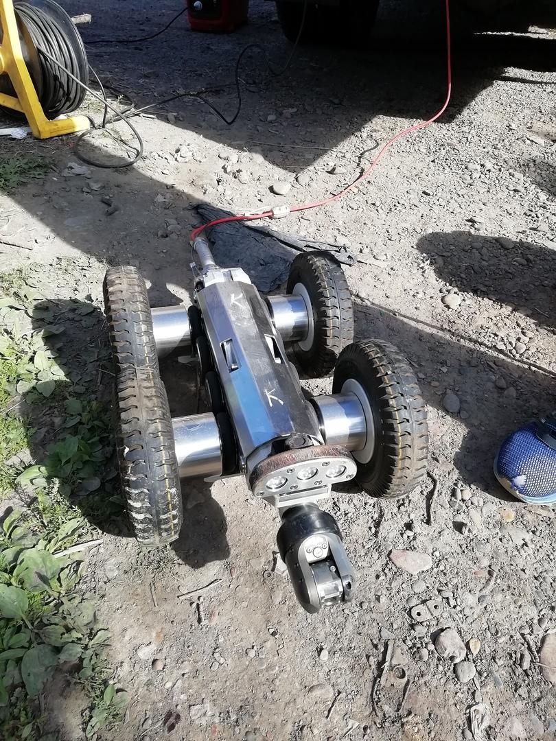 Порывы на красноярских теплосетях ищет робот