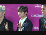 VK190115 MONSTA X Red Carpet at 2019 Seoul Music Awards @ Seoul Sports