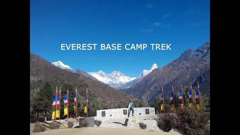 Everest base camp trek reviews on YouTube video from start to end
